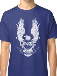UNSC LOGO HALO 4 - GRUNT DISTRESSED LOOK Classic T-Shirt