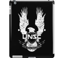 UNSC LOGO HALO 4 - GRUNT DISTRESSED LOOK iPad Case/Skin