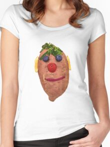 The Veggies - Stewie Stewman Women's Fitted Scoop T-Shirt