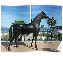 Shergar Is Alive And Well And Living In Cap Ferrat Poster