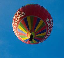 Red Balloon by Crispel
