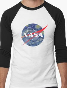 NASA starry night Men's Baseball ¾ T-Shirt