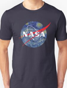 NASA starry night Unisex T-Shirt