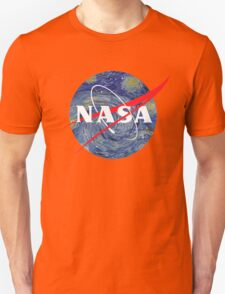 NASA starry night Unisex T-Shirt