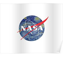 NASA starry night Poster