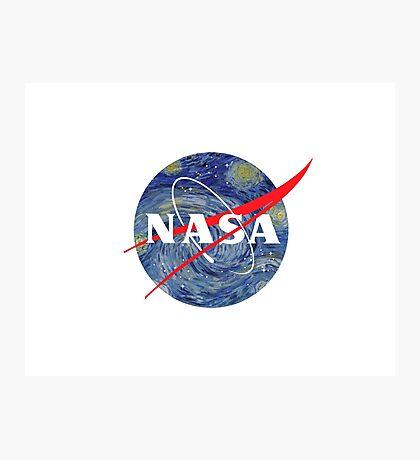 NASA starry night Photographic Print