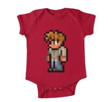 Terraria the guide One Piece - Short Sleeve