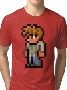 Terraria the guide Tri-blend T-Shirt