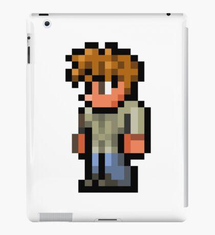Terraria the guide iPad Case/Skin