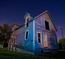 The Fort Worth Ghost House by IgorPhotography