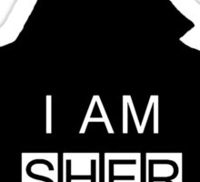 i am sher locked 2 Sticker