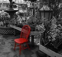Red Chair Part 2 by BeRePhotography