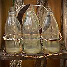 Six Milk Bottles by Barb Leopold