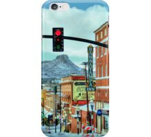 After A Snowstorm In Prescott Arizona  iPhone Case/Skin