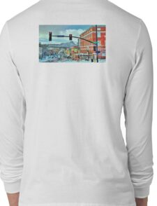 After A Snowstorm In Prescott Arizona  Long Sleeve T-Shirt