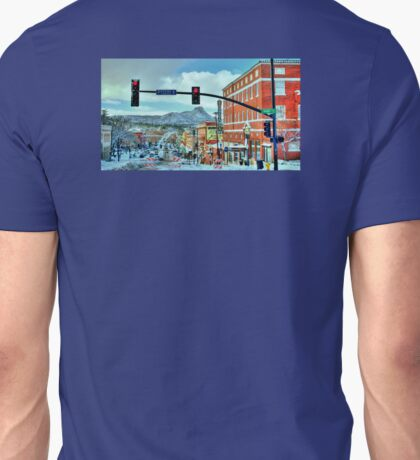 After A Snowstorm In Prescott Arizona  Unisex T-Shirt