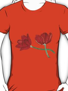Tulips with Love, Happy Together  T-Shirt