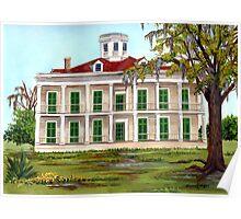LeBeau Plantation Front View Poster