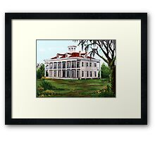 LeBeau Plantation Framed Print