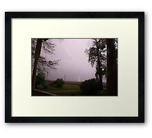 Light up my Tree Framed Print