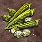 Okra by Elaine Hodges