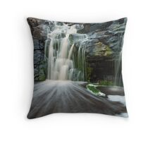 Deep Creek Waterfall Throw Pillow