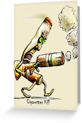 Cigarettes Kill by Tom Godfrey