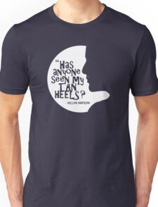 Gillian Anderson's Tan Heels Unisex T-Shirt