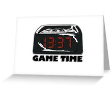 Digital Game Time Greeting Card
