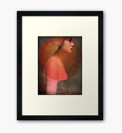 Portrait05 Framed Print