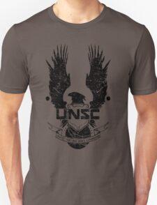 UNSC LOGO HALO 4 - GRUNT DISTRESSED LOOK T-Shirt