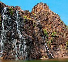 Twin Falls, Kakadu National Park, Australia by Erik Schlogl