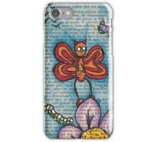 Zombie Butterfly iPhone Case/Skin