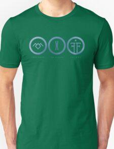 Twin Peaks / The X-Files / Fringe Unisex T-Shirt