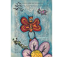Zombie Butterfly Photographic Print
