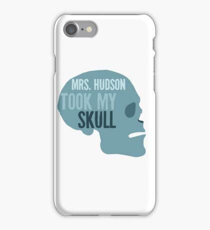 mrs. hudson took my skull iPhone Case/Skin