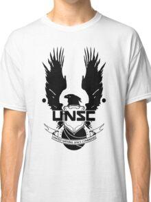 UNSC LOGO HALO 4 - CLEAN LOGO IN BLACK Classic T-Shirt
