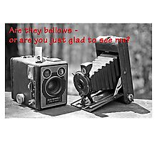 Camera Valentine Photographic Print