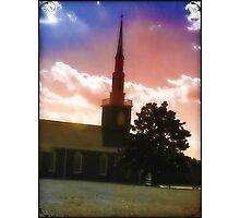 First Baptist Church of Woodruff Photographic Print