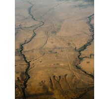 Two Rivers, Serengeti, Tanzania Photographic Print