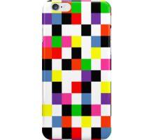 Coloured Squares iPhone Case/Skin