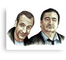 Colin and Howard Canvas Print