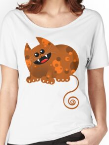 CALICO CAT Women's Relaxed Fit T-Shirt