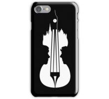 sherlock violin big ben iPhone Case/Skin