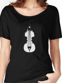 sherlock violin big ben Women's Relaxed Fit T-Shirt