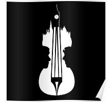 sherlock violin big ben Poster