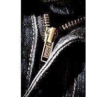 Zip It! Photographic Print