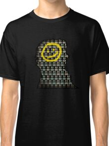 sherlock smiley wallpaper Classic T-Shirt