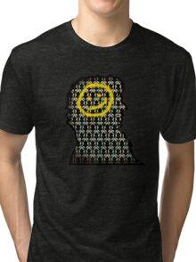 sherlock smiley wallpaper Tri-blend T-Shirt