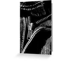 Zip It Up. Greeting Card